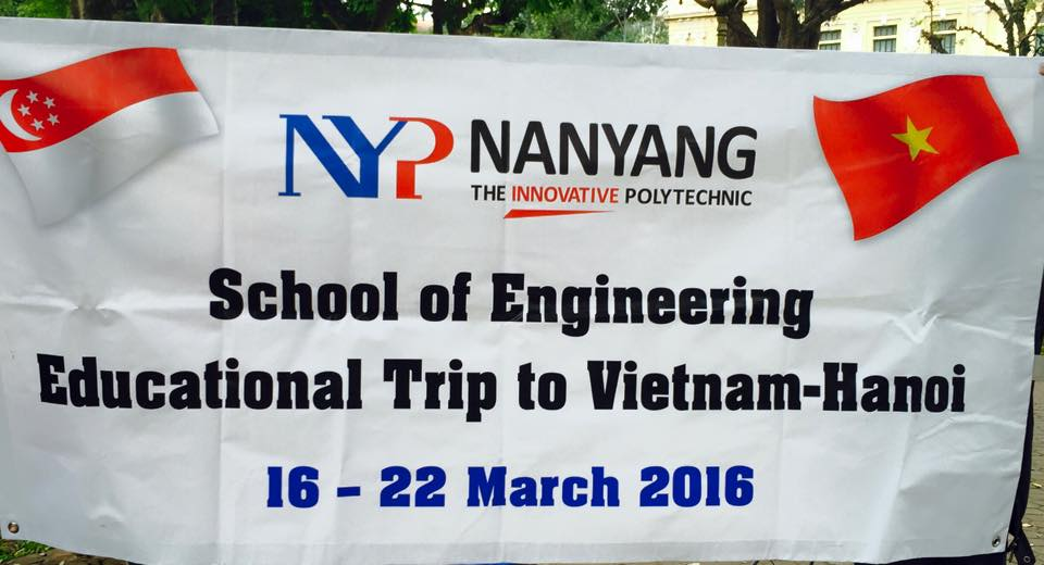 Educational program for Nanyang Polytechnic Singapore School