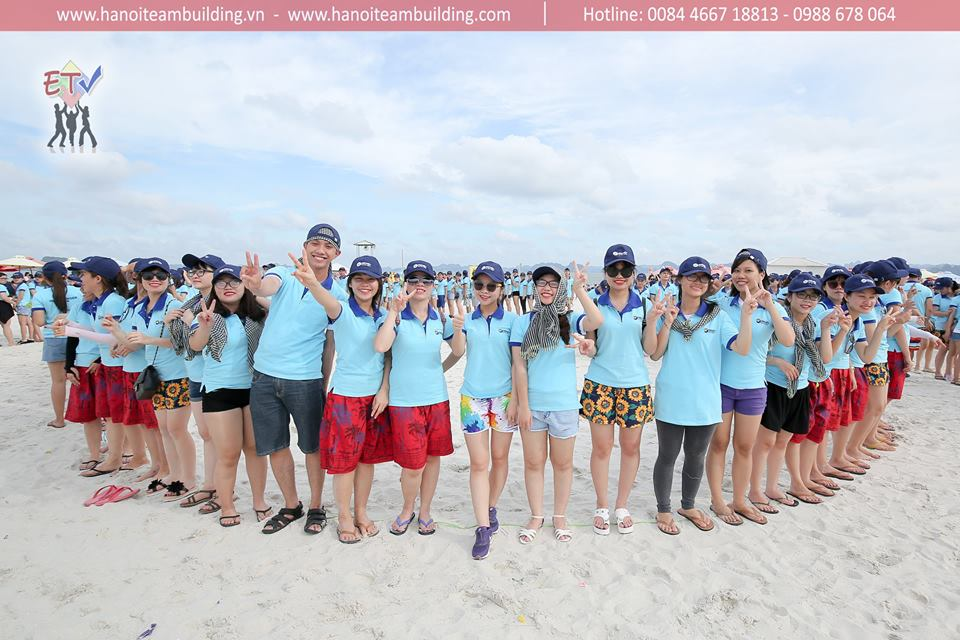 Flying colours - Dai Viet Group teambuilding 2017