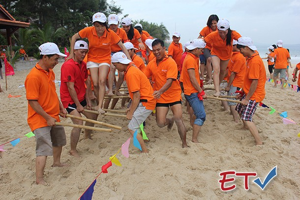 The trend of teambuilding tourism 's development